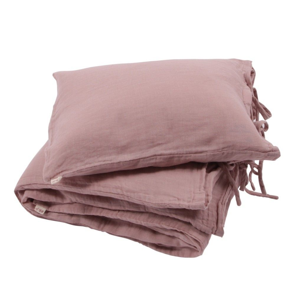Bettwaschegarnitur Altrosa Numero74 Bettwasche Beige Herzkissen Kissen