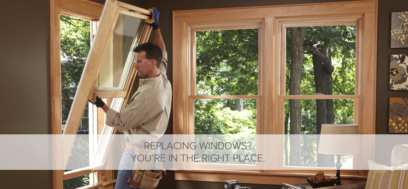 We proudly carry Andersen windows and doors products