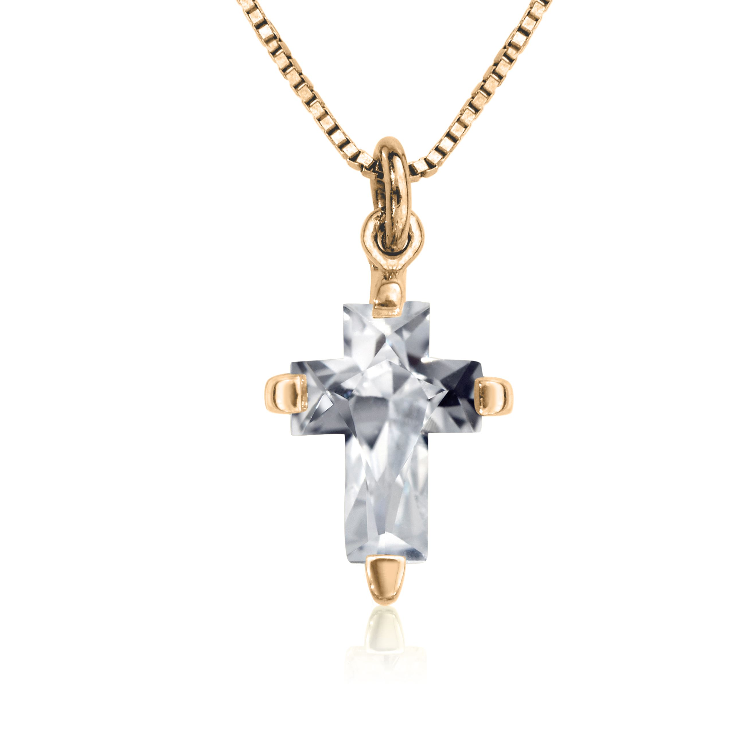Enif design white sapphire pendant available in yellow white and