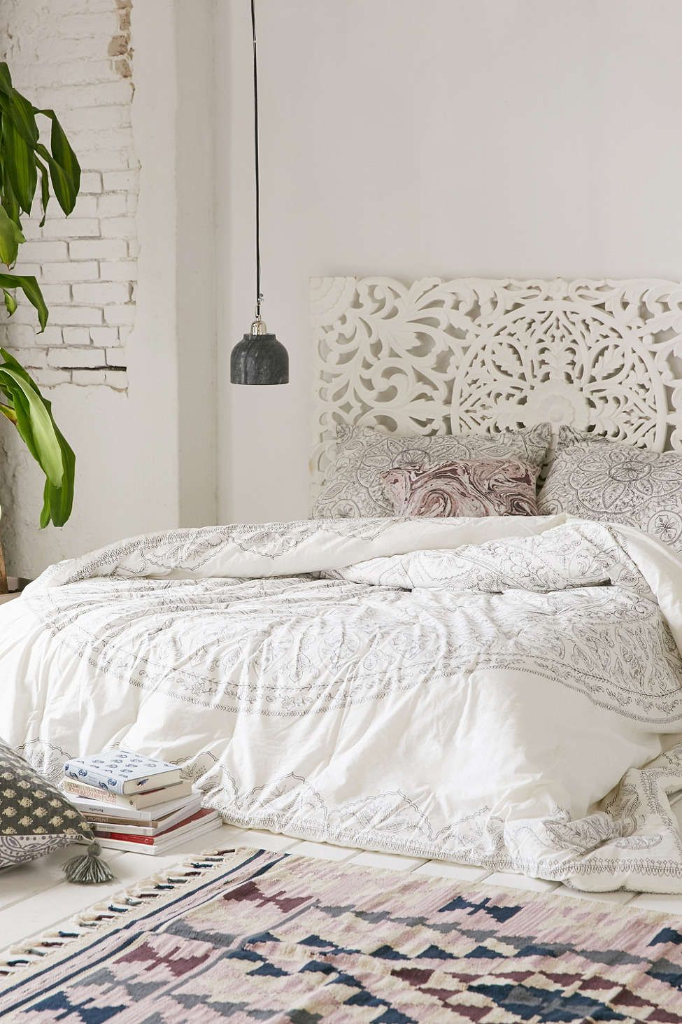 Plum Amp Bow Soukay Delicate Comforter Urban Outfitters