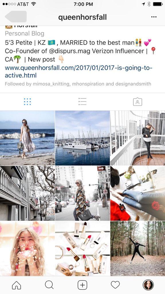 Queenhorsfal Instagram feed