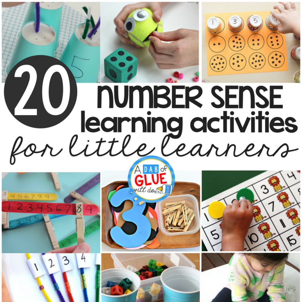 Number Sense Activities For Little Learners