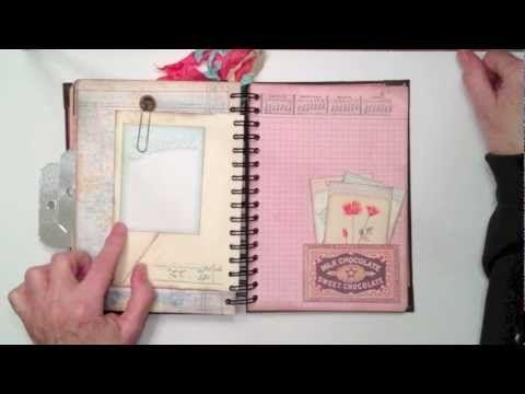 Pink Paislee Junk Journal