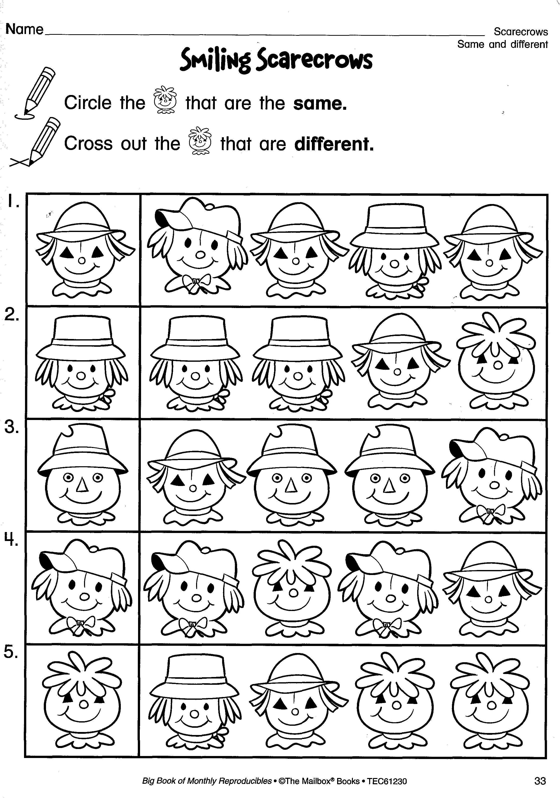 Search Results For Big Book Of Monthly Reproducibles Fall Worksheets Preschool Worksheets Preschool [ 3192 x 2239 Pixel ]