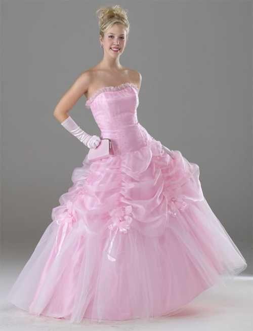 pink bride dress | Madison Wi Wedding | Pinterest | Bride dresses ...