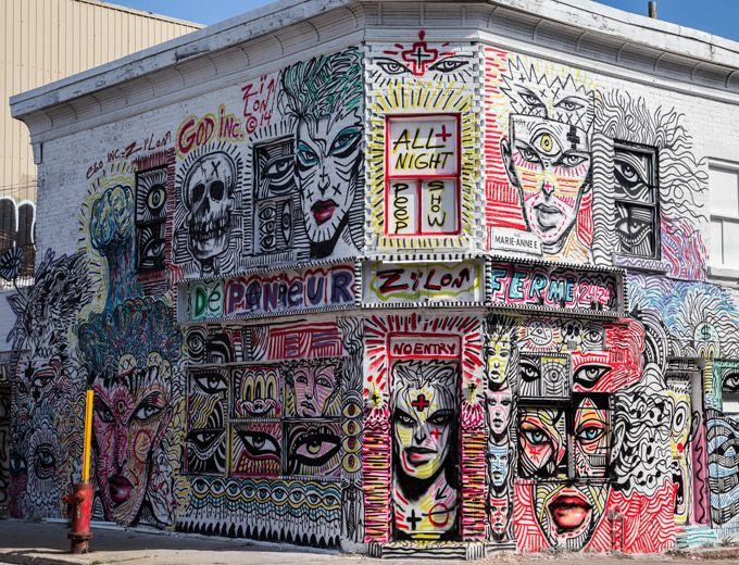 Os murais da 2ª Edição do Mural International Art Festival