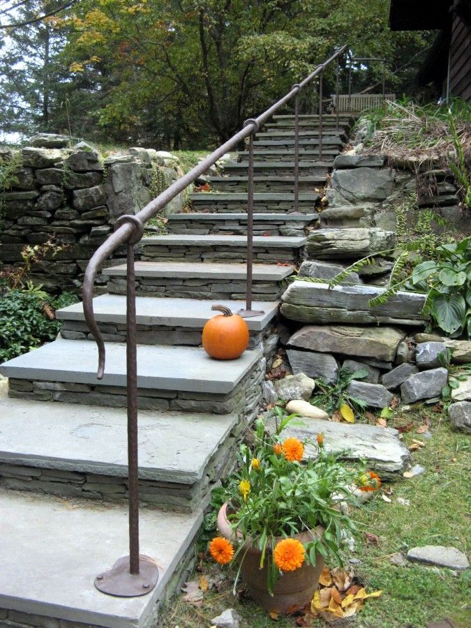 Best Wrought Iron Handrail With Hammered Finish … In 2019 640 x 480
