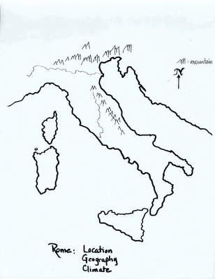 Mr.Guerriero's Blog: Ancient Rome Map. Good blank map of