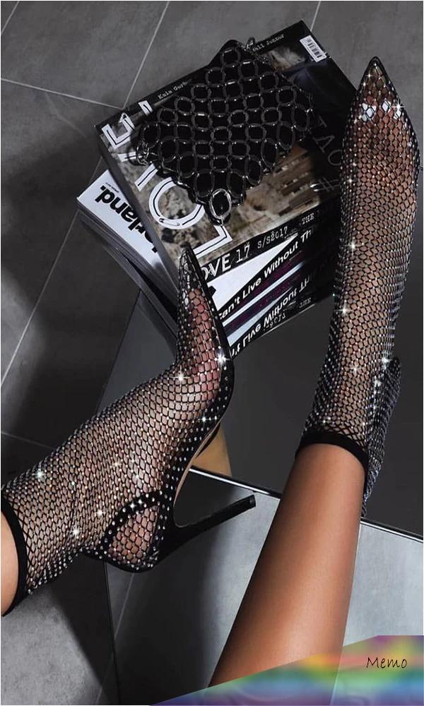 Mar 1, 2020 - Sparkle Black High Heels Women Shoes HZS0129 – Trendyupgirls #shoes #heels #highheels #sandals #womenshoes #heelsprom #boots