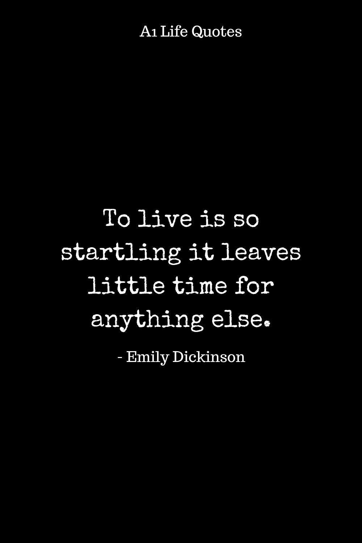 Emily Dickenson Startling Life