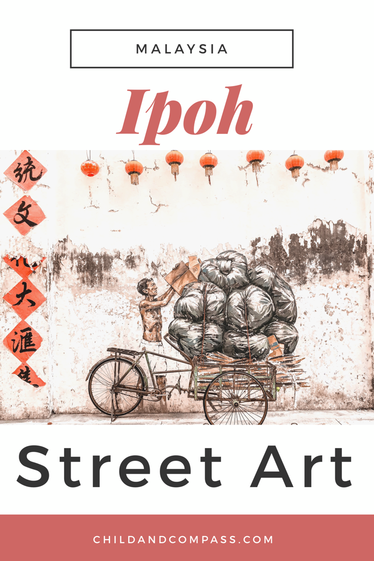 Photo of Ipoh Streetart Guide & Mural Art Trail in Malaysia inkl. Koordinaten ⋆ Child & Compass