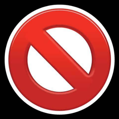 No Entry Sign Resimler
