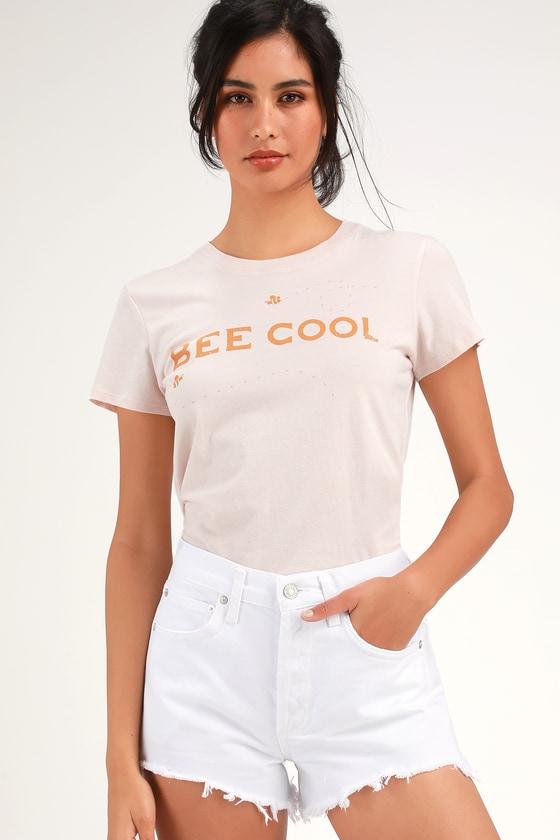 Parker Vintage White Denim Cutoff Shorts