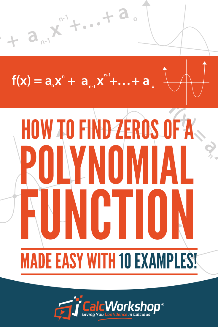 How to find zeros of a polynomial 10 awesome examples math finding zeros of polynomials insightful video lesson on finding all types of roots of polynomial falaconquin