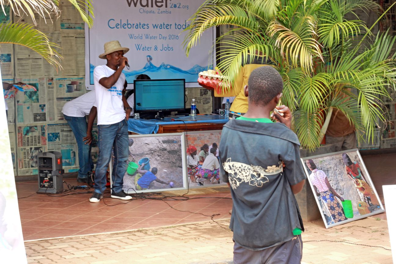 Today is World Water Day! So many people across the world today are without access to clean, safe water. Help us make a change today! You can make an easy donation at water282.causevox.com right now!  This is our team in Chipata, Zambia commemorating World Water Day 2016!