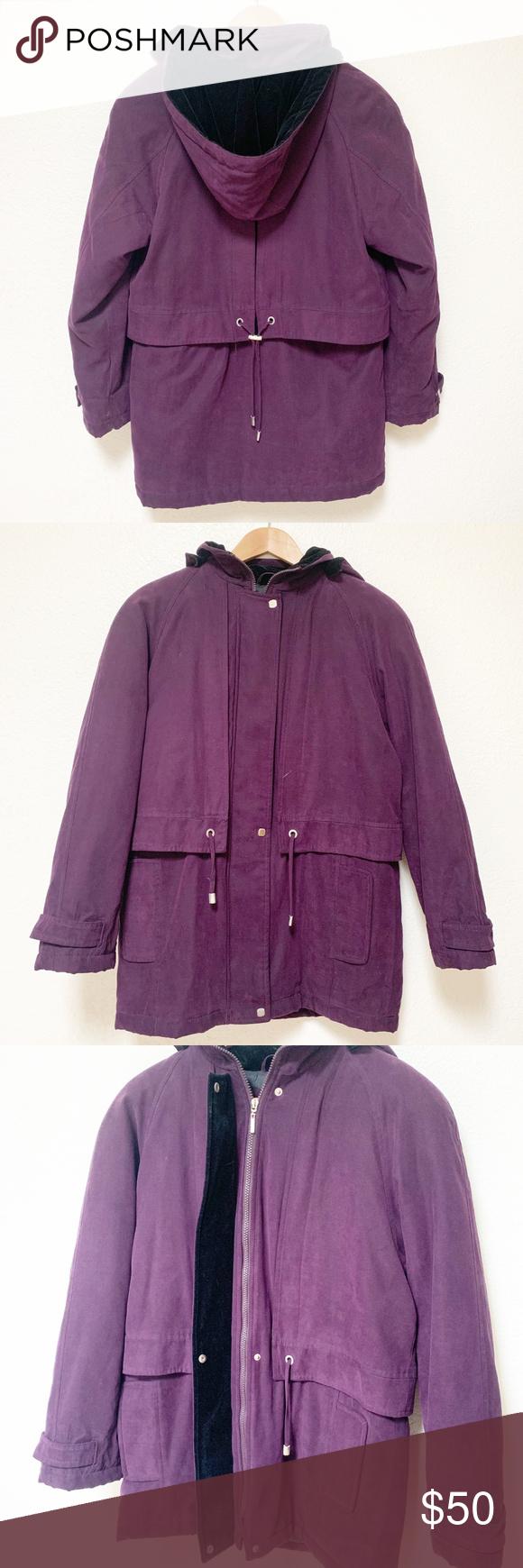 Izzi Outerwear Womens Purple Puffy Zip Up Jacket Jackets Zip Ups Outerwear [ 1740 x 580 Pixel ]