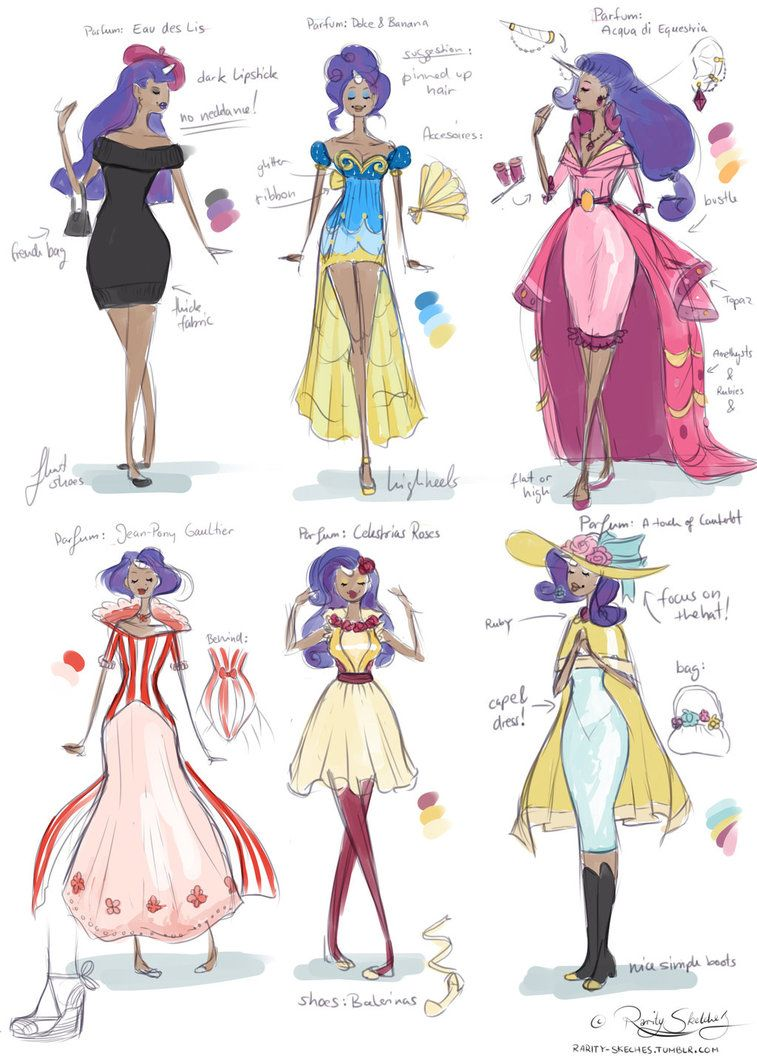 Pony Costume Ideas Rarity Fashion Designs By Glasmond Raribelle Human Version