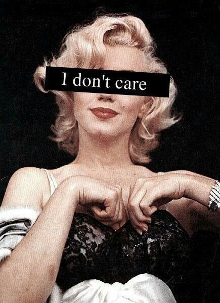 I don't care neither   on We Heart It