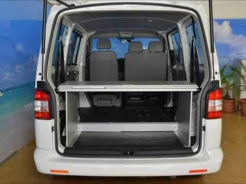 bett bed vanessa mobilcamping aufbau schlafsystem van vw t5 transporter caravelle ohne. Black Bedroom Furniture Sets. Home Design Ideas