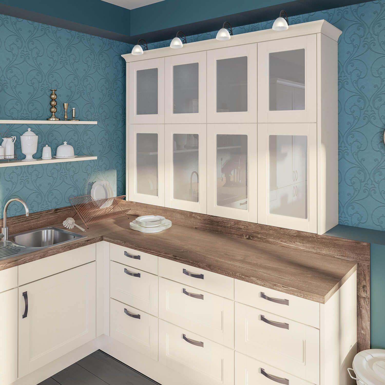 Farbige Wände in der Küche - Die 7 besten Tipps für die ... | {Pino küchen betonoptik 69}