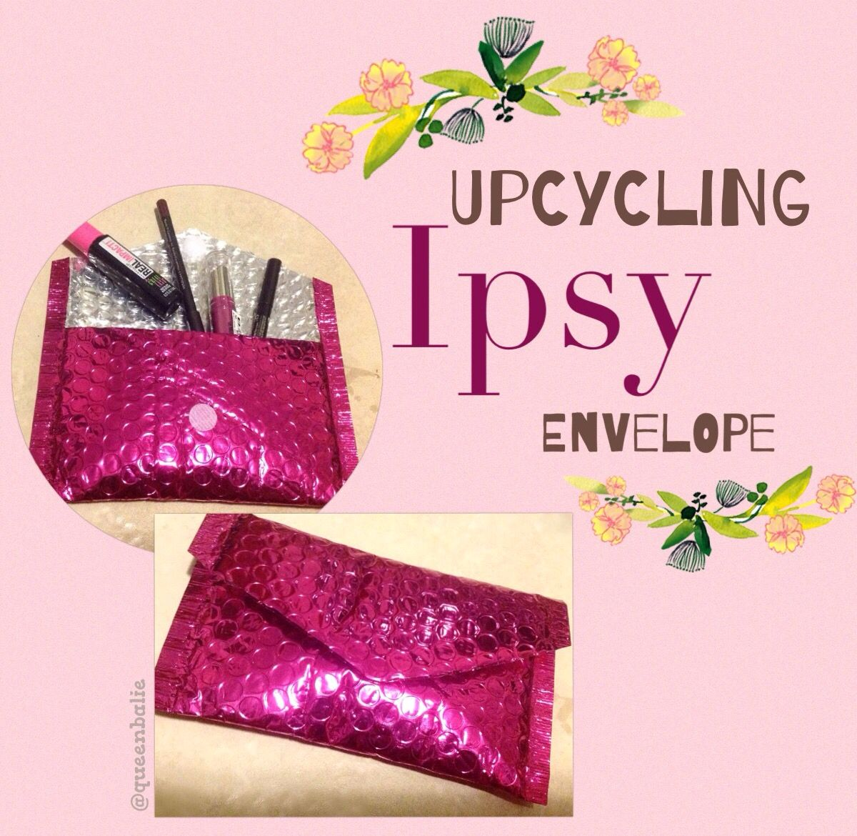 Upcycled Ipsy Envelope By Queenbalie Art Inspo House
