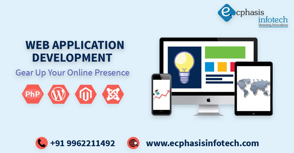 Ecphasis Infotech Is A Web Application Development Company With 13 Years Of Exper Ecommerce Website Development Website Development Company Web Design Company