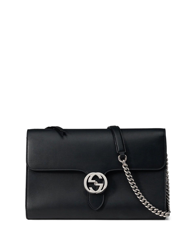 b53e7c98421972 Linea B Medium GG-Clasp Shoulder Bag, Black   Wish List   Bags ...