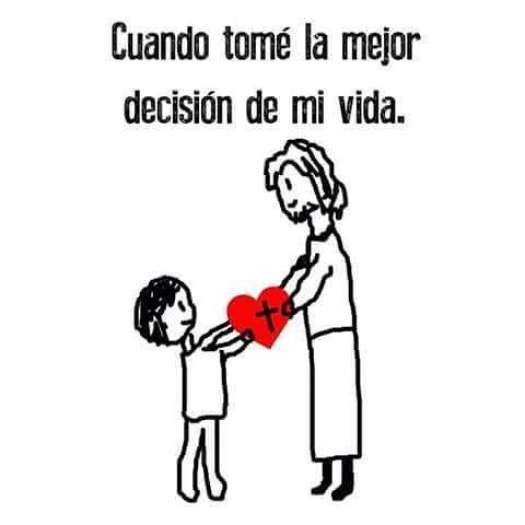 La mejor decision de nuestra VIDA JESUS #Jesús #fb #fbp #Dios