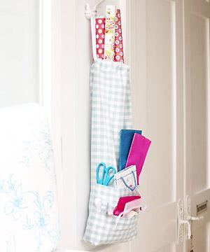 Make A Gift Wrapping Storage Bag Allaboutyou Com Sewing Room Storage Wrapping Paper Storage Sewing Gifts