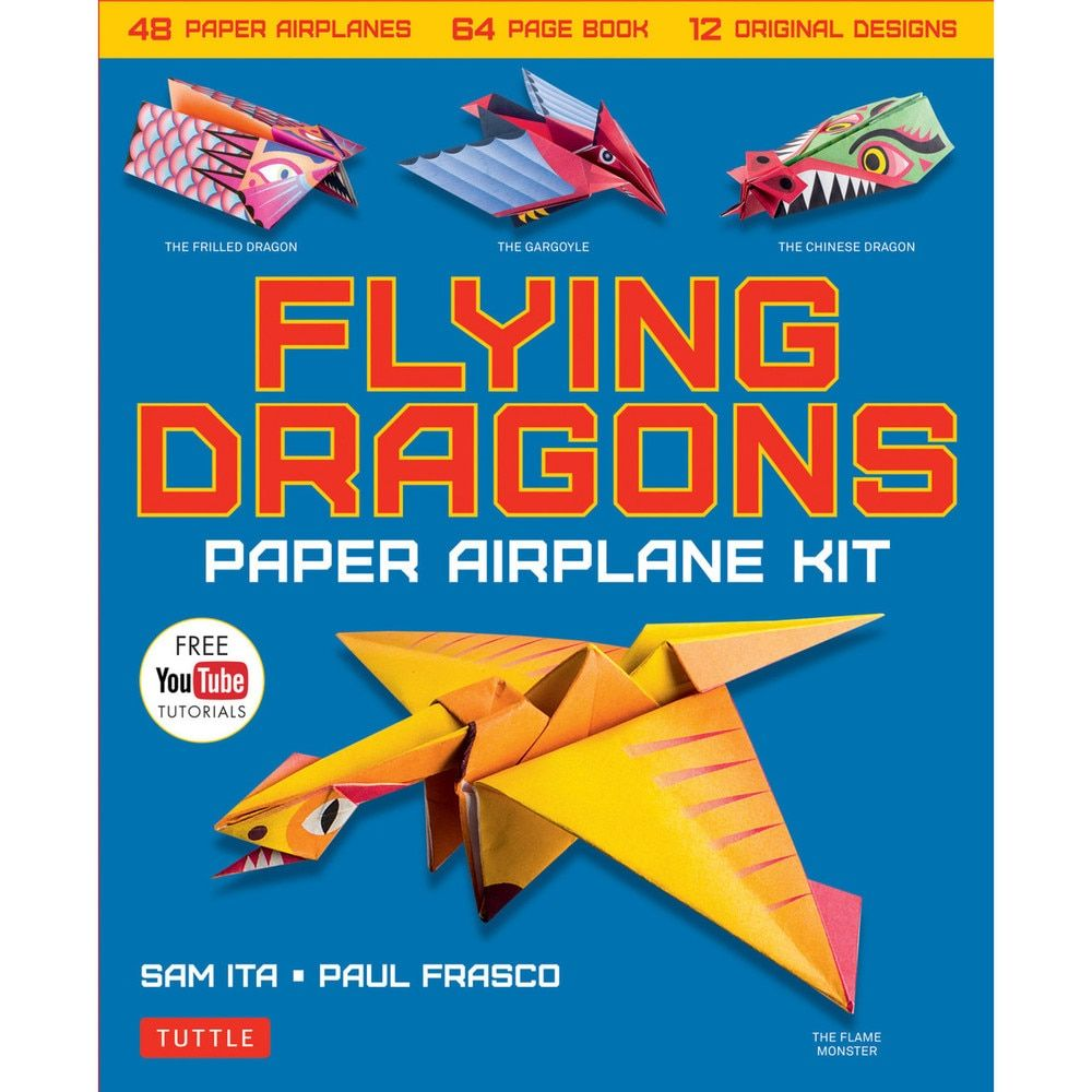 HOW TO MAKE A PAPER FLYING DRAGON ORIGAMI (MUST WATCH) !!!!! - YouTube | 1000x1000