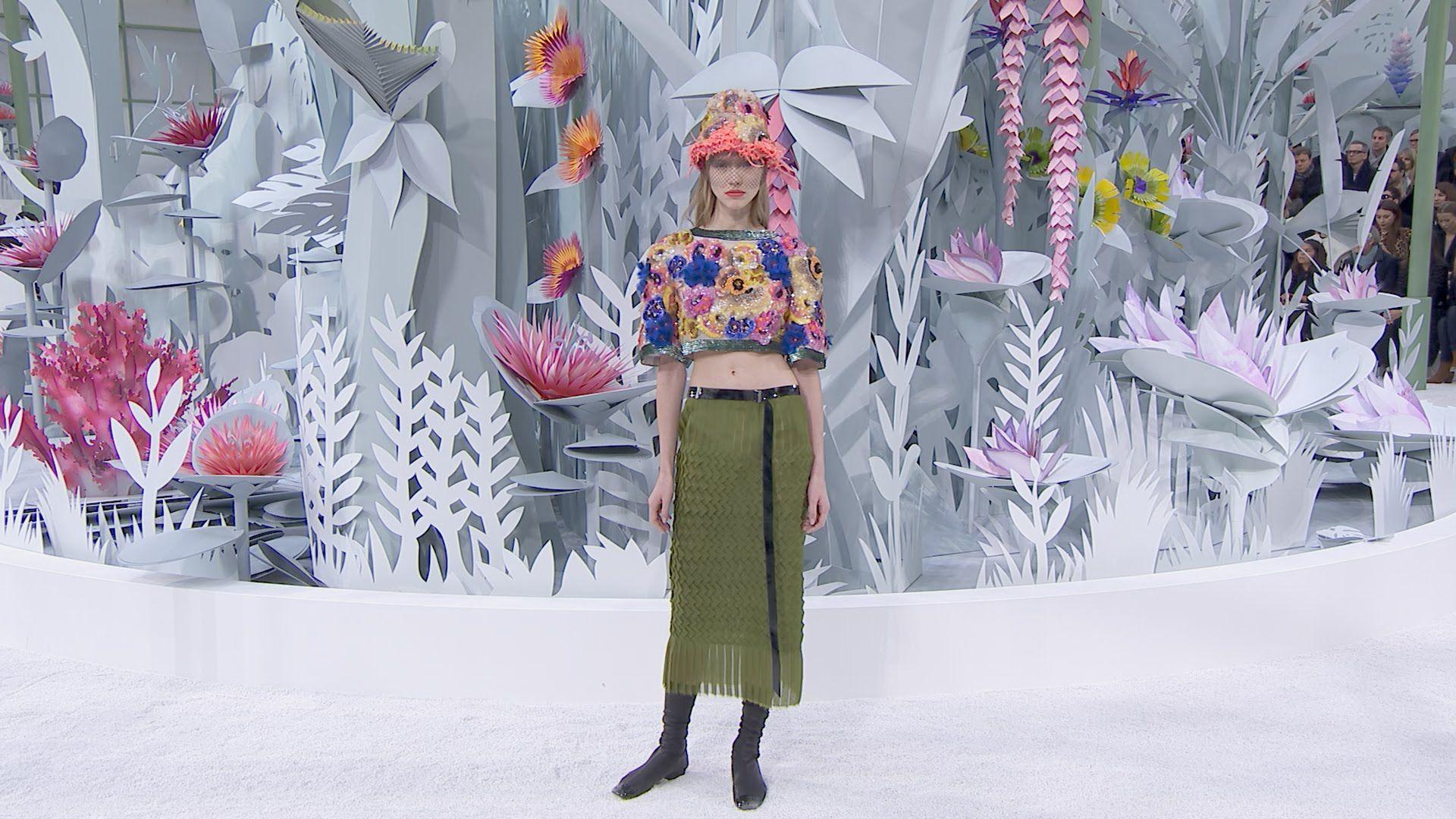 Chanel Haute Couture S / S 2015 París - Buscar con Google