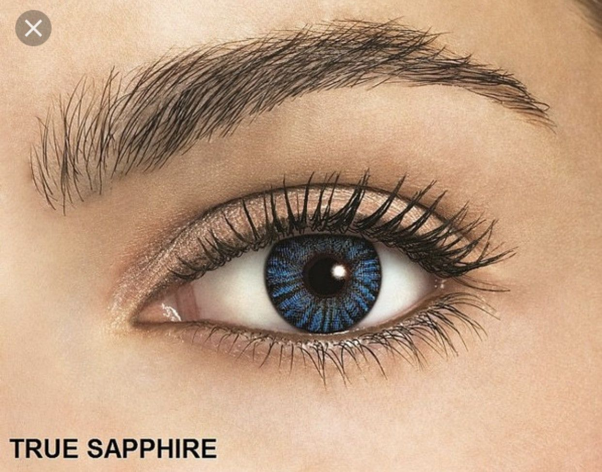True Sapphire Prescription Colored Contacts Colored Contacts Make Eyes Pop