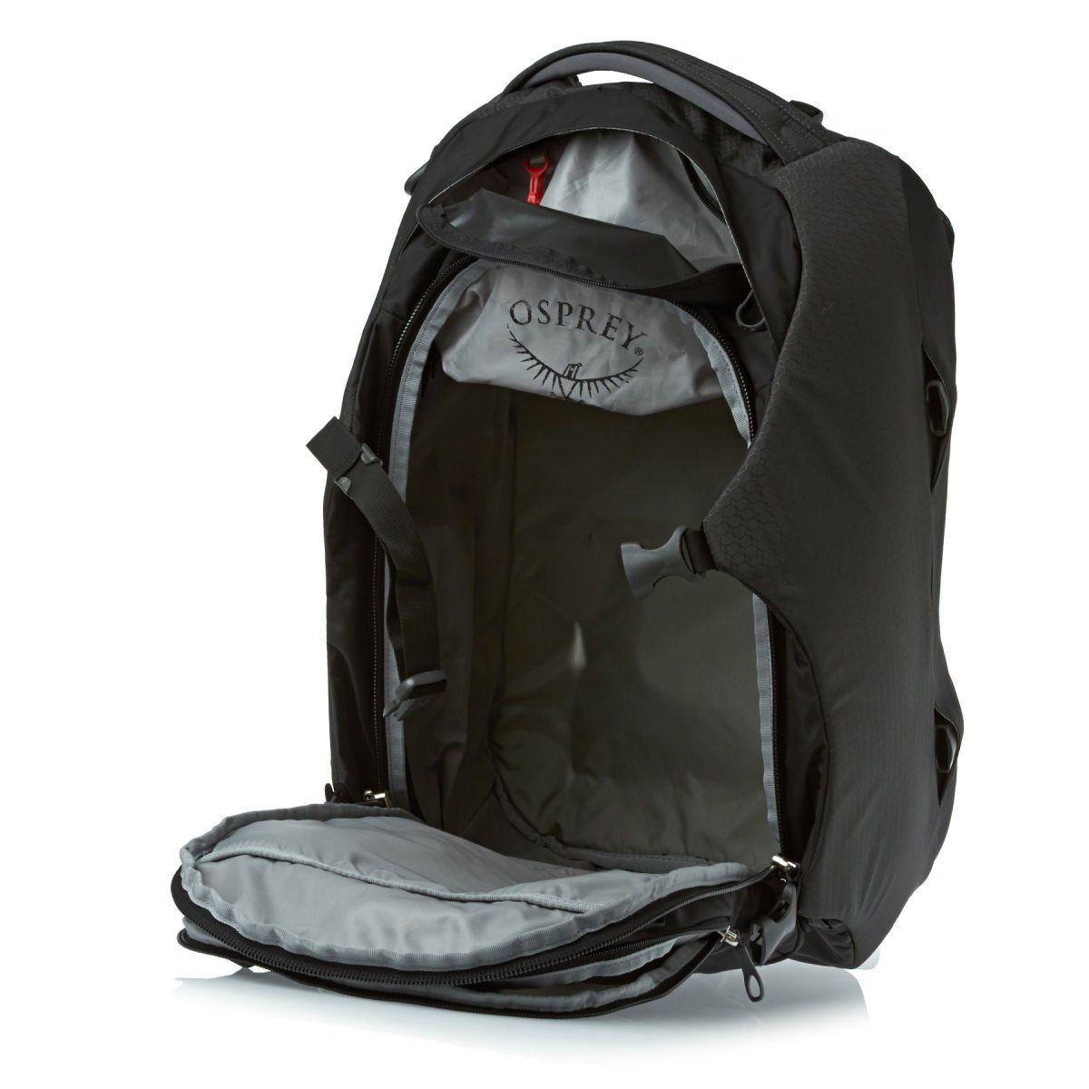 Amazon.com : Osprey Porter Travel Duffel Bag, Black, 46-Liter : Clothing