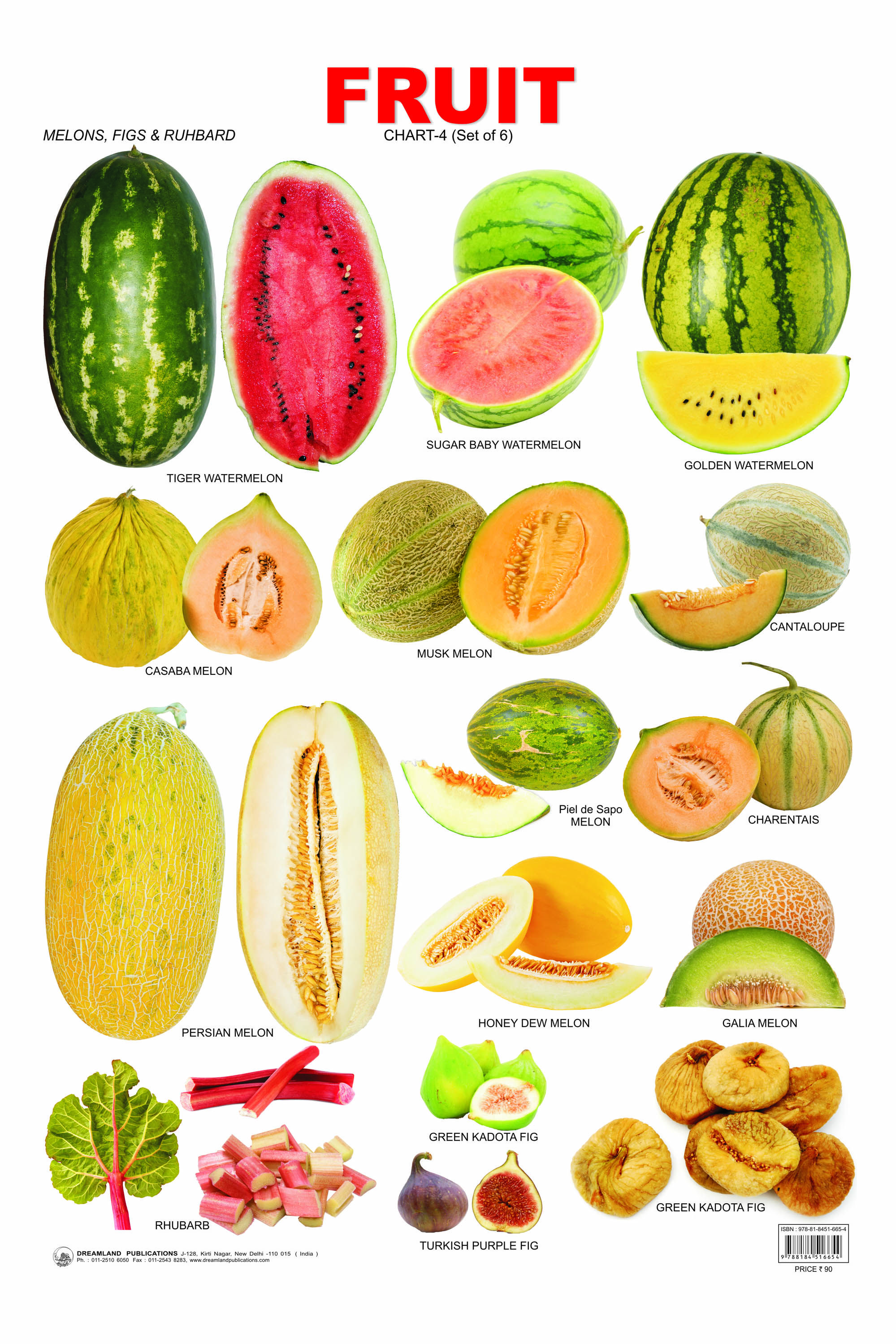 Favorit Fruit Chart 6 (Exotic fruit,stone fruit) - Click Image to Close  CX55