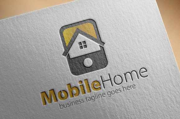 Loghi Mobili ~ Check out mobile home logo by samedia on creative market logos