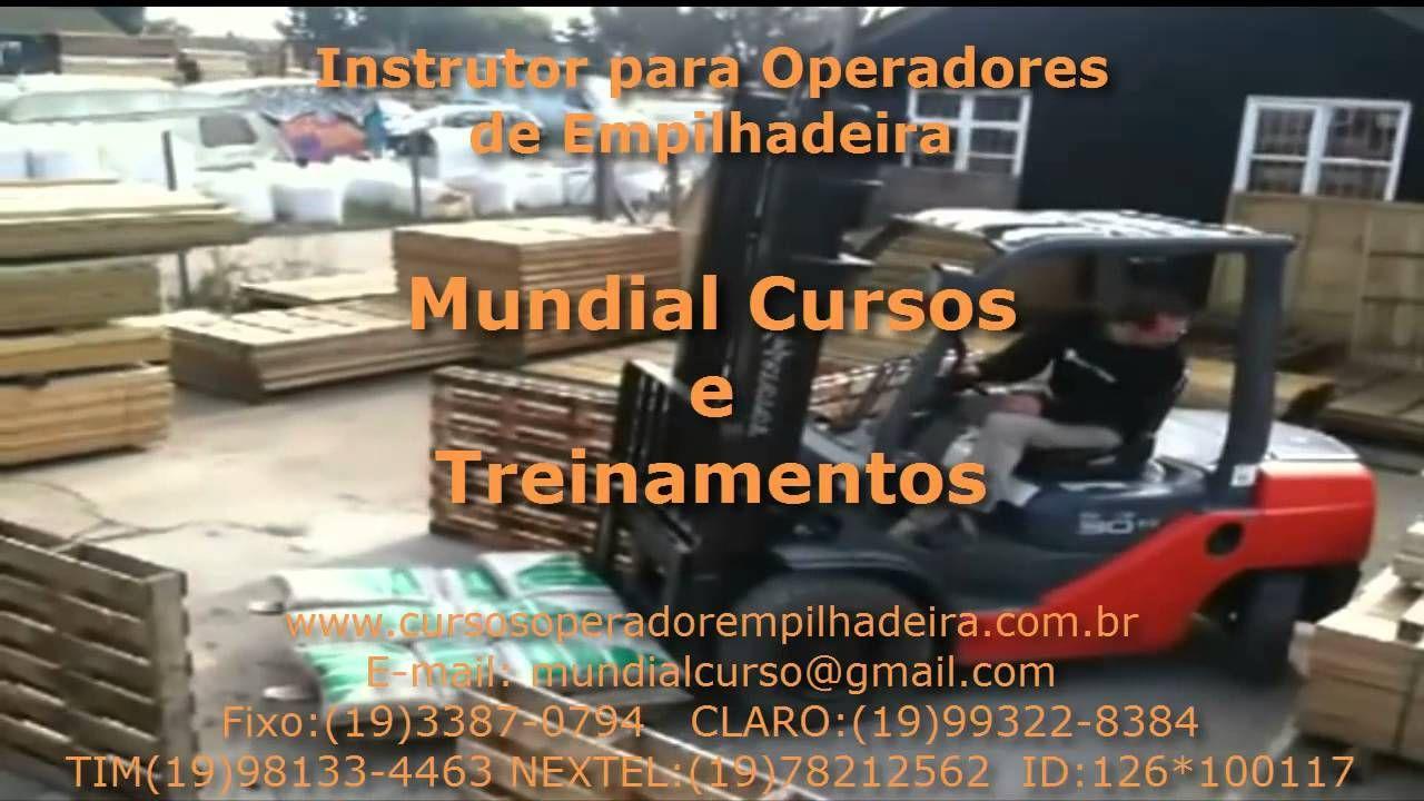 Curso Instrutor de Operadores de Empilhadeiras