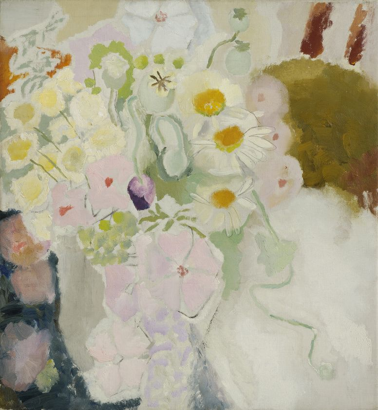 Wild Flowers, c.1939 by Ivon Hitchens.  © The Estate of Ivon Hitchens. All rights reserved. DACS 2017. Photo: Jonathan Clark & Co.