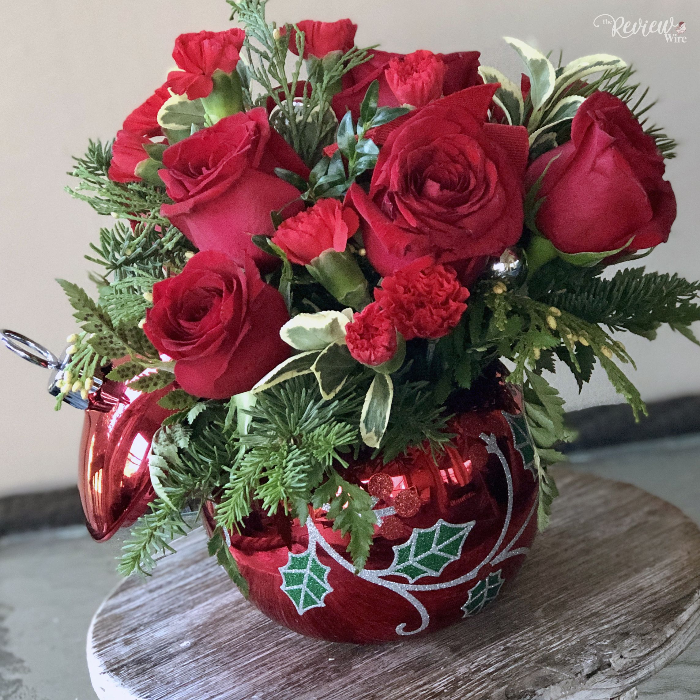 Brighten up a dreary day with a winter bouquet from