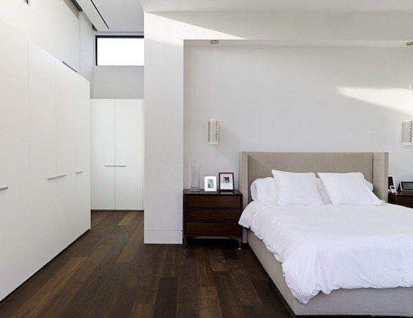 View In Gallery Dark Wood Flooring Bedroom Floor O Bedroom Styles Modern Bedroom Design Bedroom Flooring