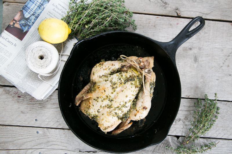 easy, clean, whole roasted chicken - Dr. Alejandro Junger CLEAN EATS