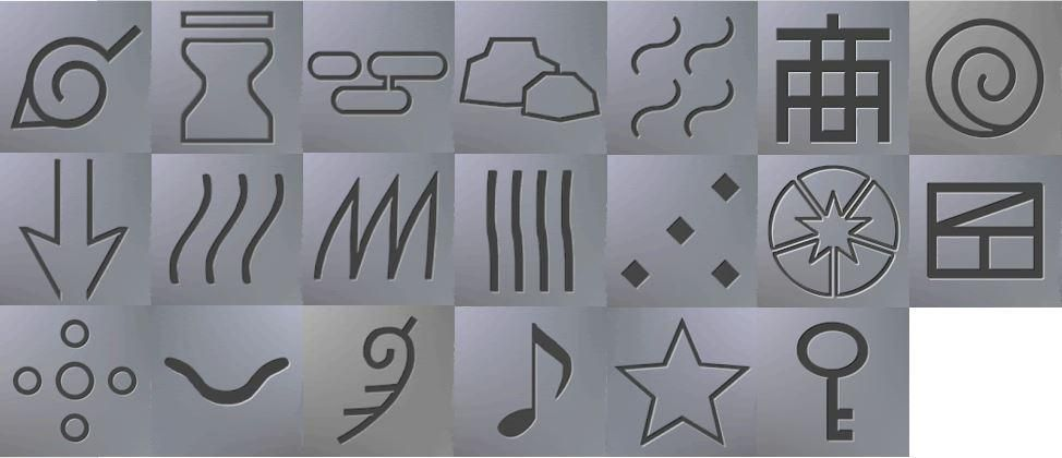 What S Your Favorite Hidden Village Symbol Symbols Ice Tray Symbols Molding