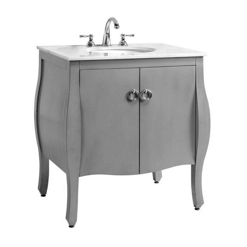 Keep It Simple But Elegant With The Savoy Bath Vanity Homedecorators   Bath  Pinterest  Bath Vanities, Vanities And Bath