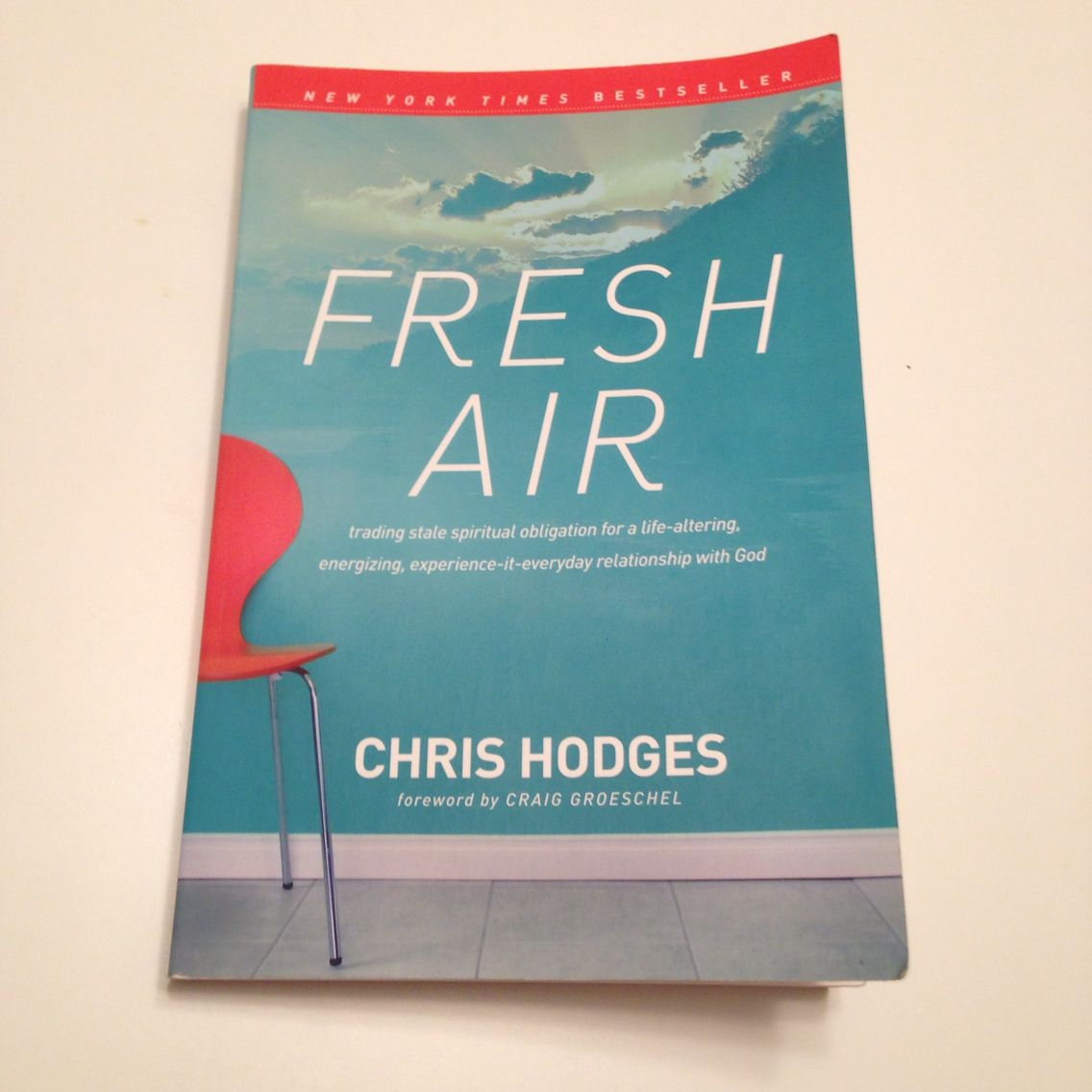 Excellent book by one of the greatest in person speakers I have ever seen.  Chris Hodges inspired me so much when I saw him speak in September 2014.  This book is a great book for anyone pursuing God, especially if you are in a dry spot in your relationship with God.