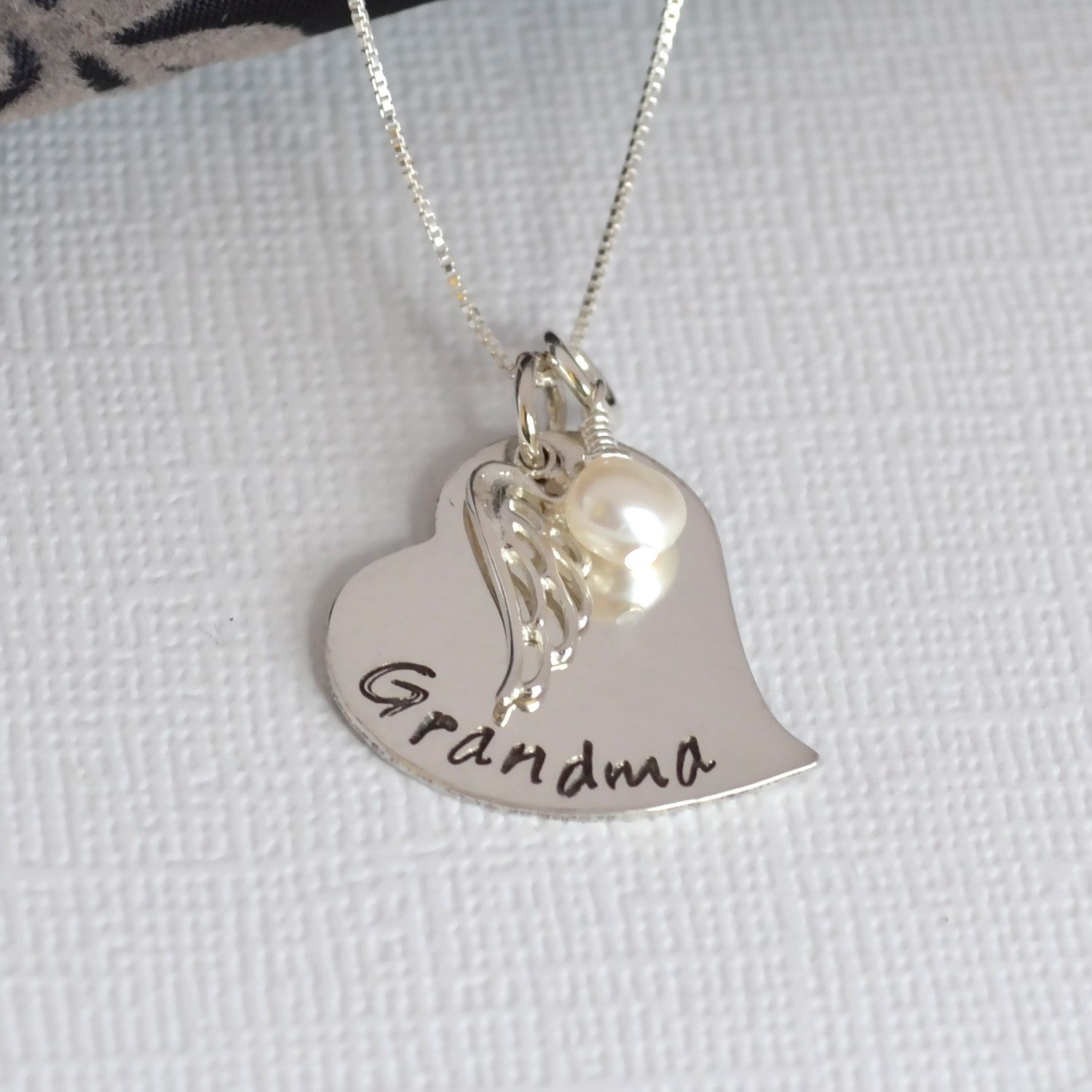 memory or products teardrop grandma for locket steel gift mom stainless floating personalized sam necklace
