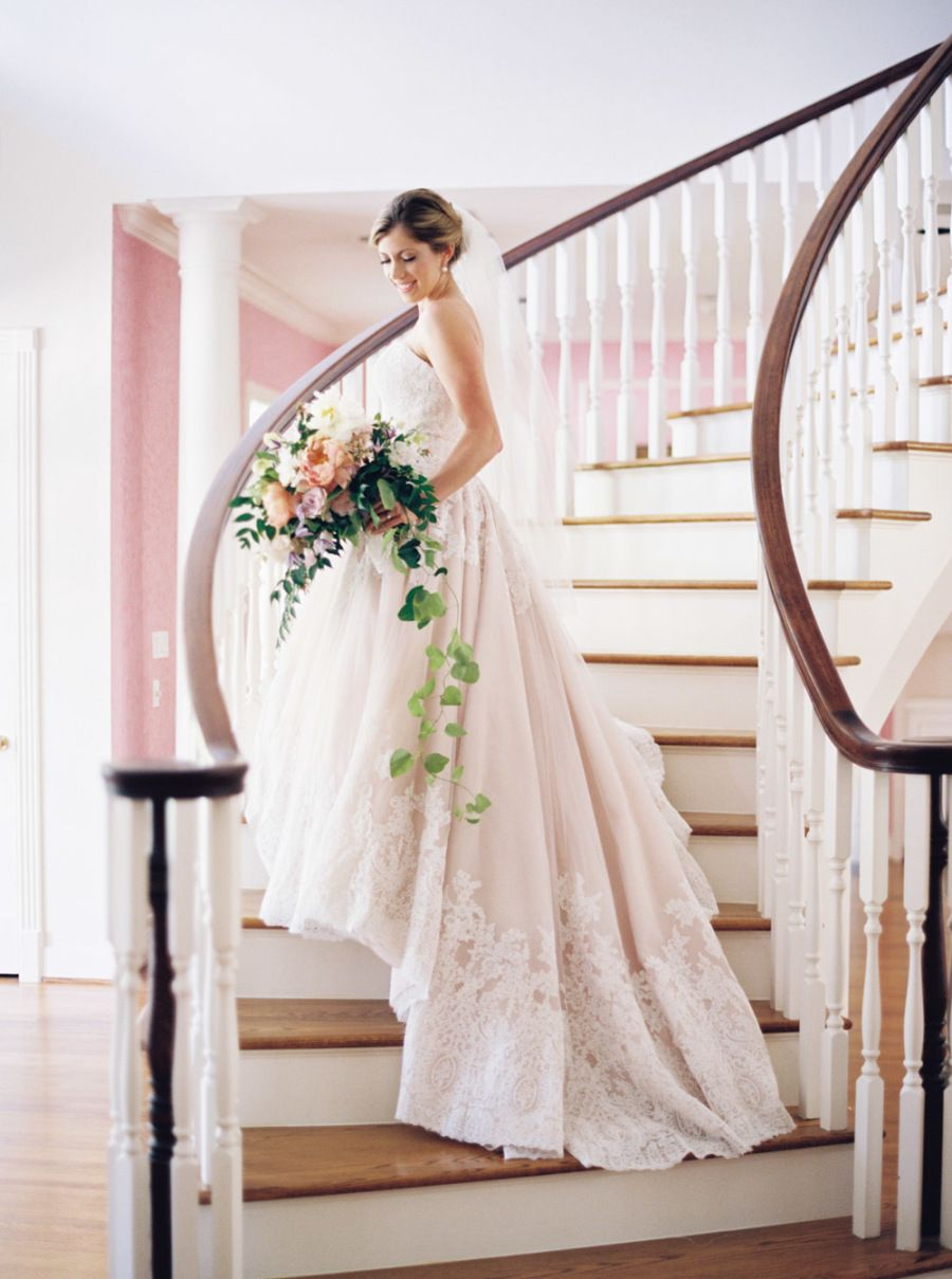 The southern hometown wedding of our dreams mori lee wedding