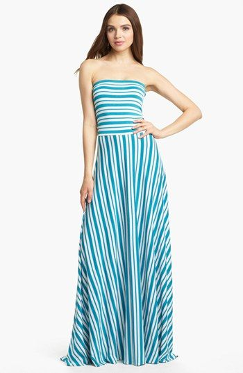 cb75b65046 FELICITY   COCO Strapless Stripe Maxi Dress (Nordstrom Exclusive) available  at  Nordstrom