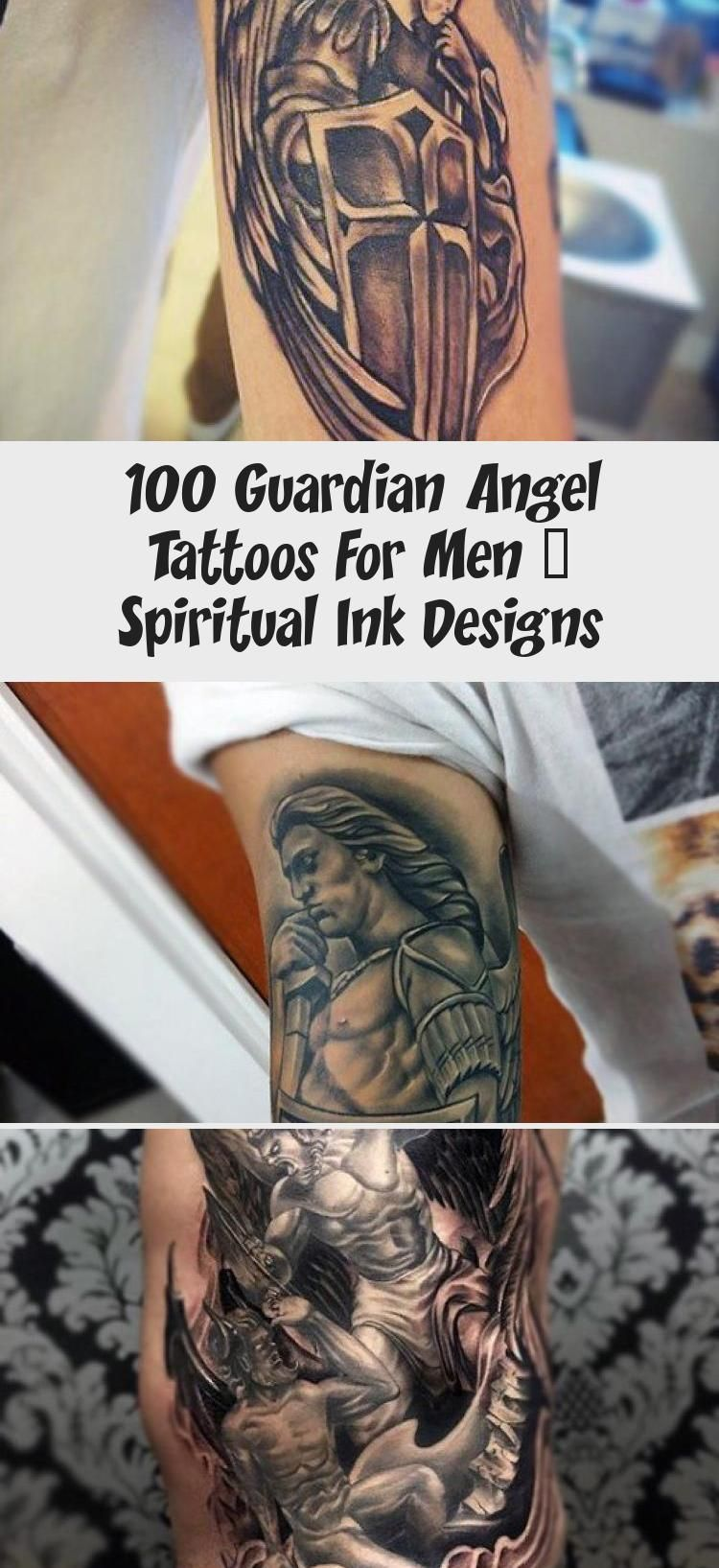 100 Guardian Angel Tattoos For Men – Spiritual Ink Designs ...