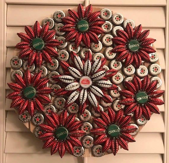 Große Runde Blüten (Weihnachten)