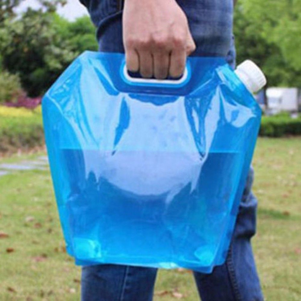 Camping Hiking 20L Folding Water Storage Bag Outdoor Travel Accessories Usefull