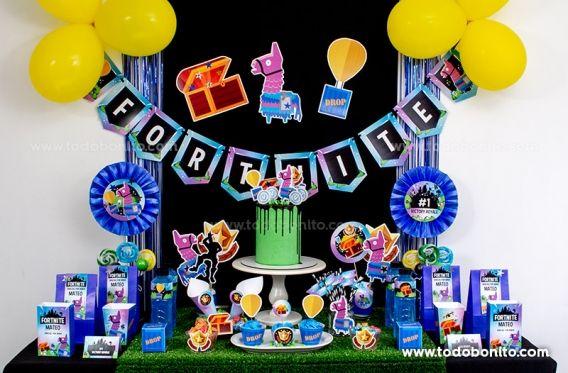 Kits Imprimibles De Fortnite Para Una Fiesta épica Todo Bonito Imprimibles Fiesta Decoracion De Cumpleaños Fotografía De Fiesta De Cumpleaños